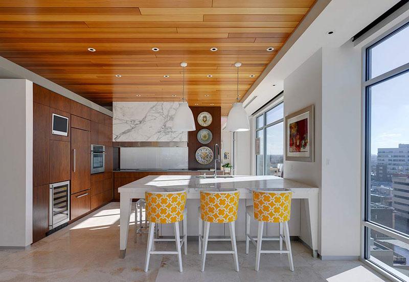 Деревянные потолки в интерьере от HAUS & LEVEL Interiors