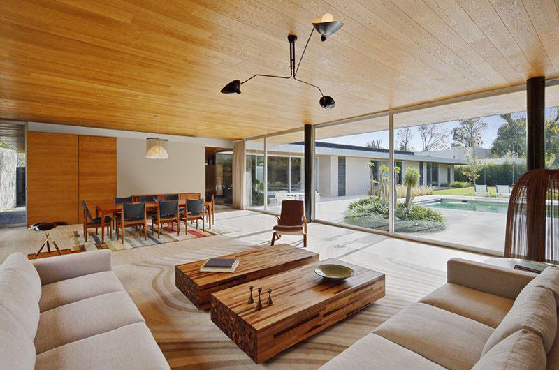 Деревянные потолки в интерьере от Park Humano