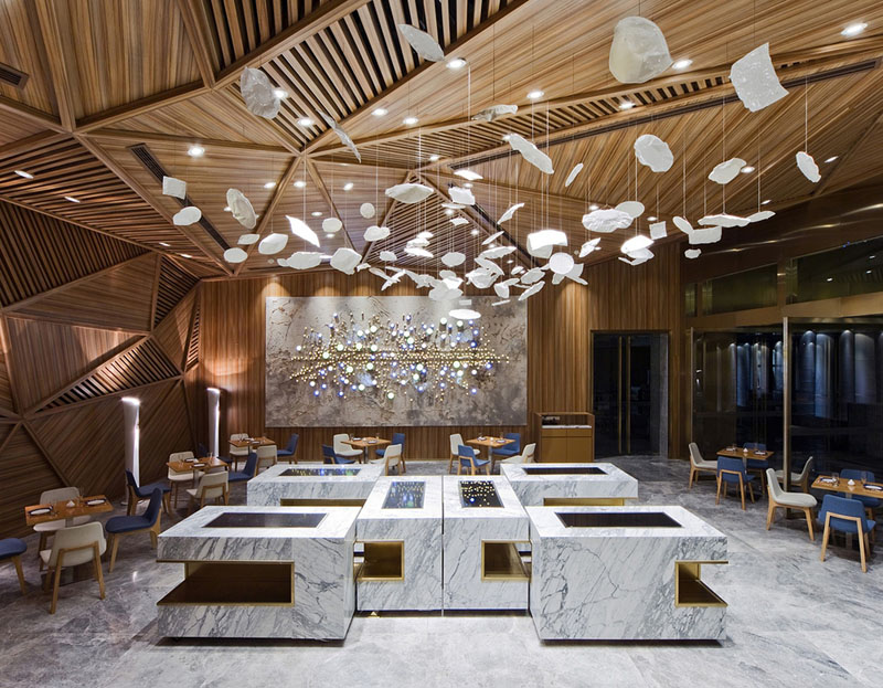 Деревянные потолки в интерьере от студии PANORAMA