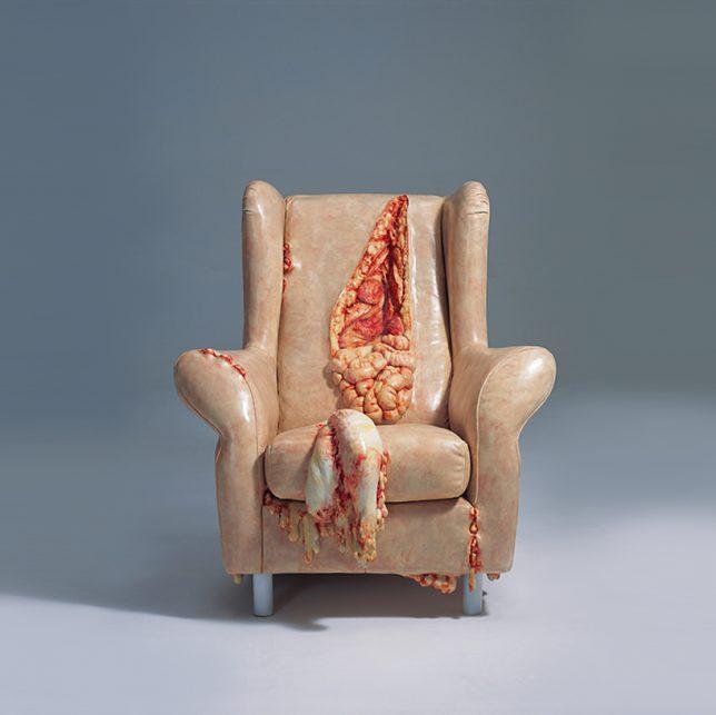 Дизайн образной мебели: кресло от Цао Хуэй