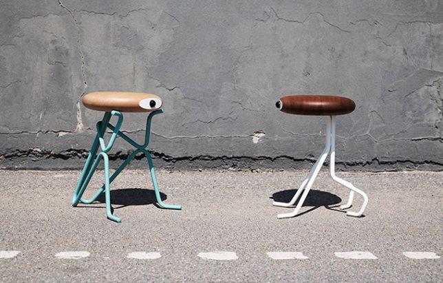 Дизайн образной мебели: оригинальные табуреты