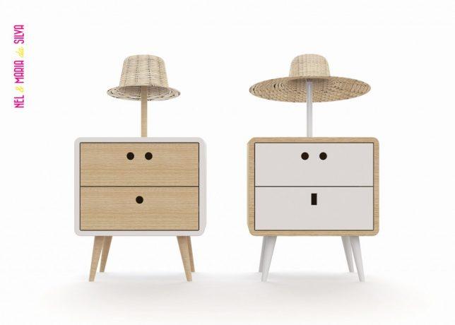 Дизайн образной мебели: прикроватные столики