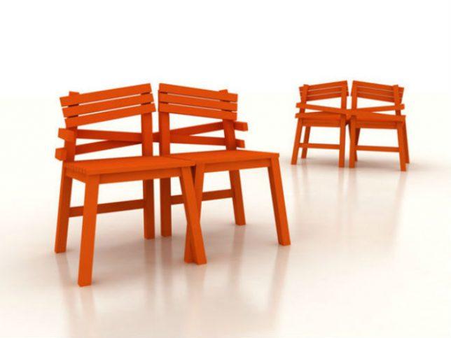 Дизайн образной мебели: необычные стулья