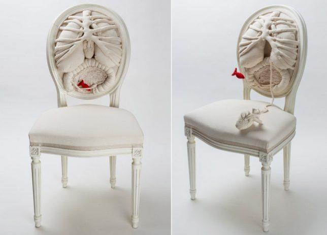 Дизайн образной мебели: анатомическое кресло