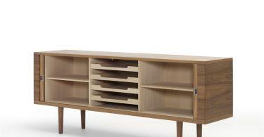 Современная дизайнерская мебель из дерева