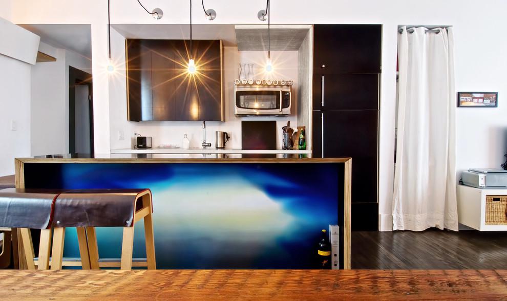 Идеи для вашего дома своими руками: необычная отделка кухонного острова в интерьере