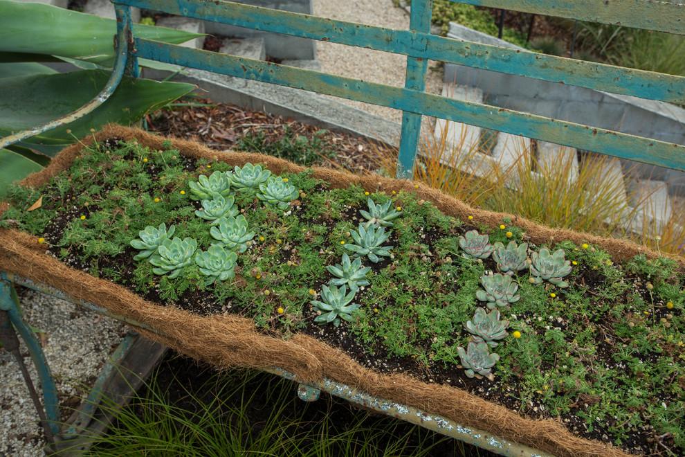Идеи для вашего дома своими руками: декорирование лавочки растениями