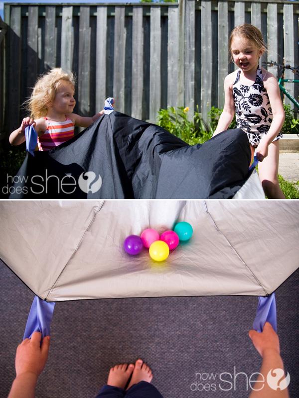Идеи использования сломанных вещей: домик для ребенка
