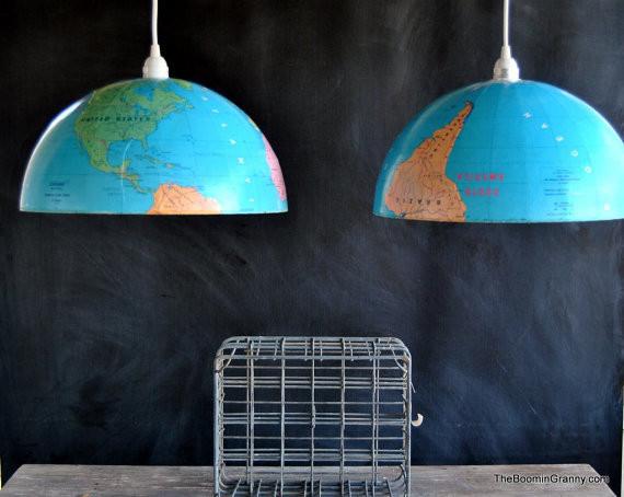 Идеи использования сломанных вещей: глобус