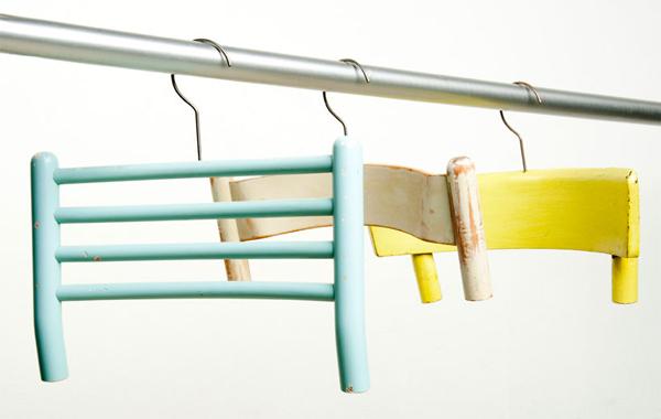 Идеи использования сломанных вещей: вешалка