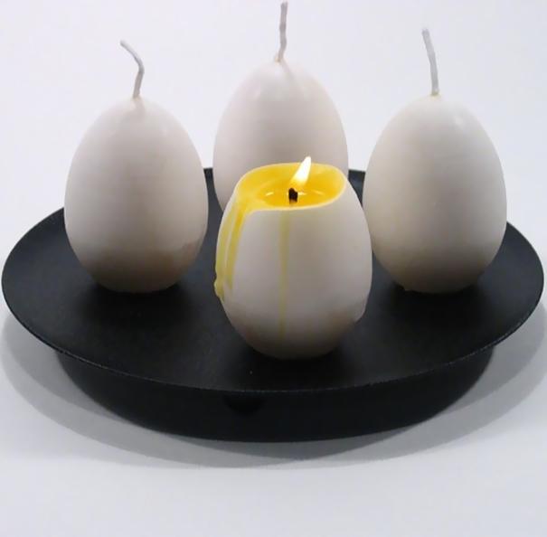 Свечи в форме яйца