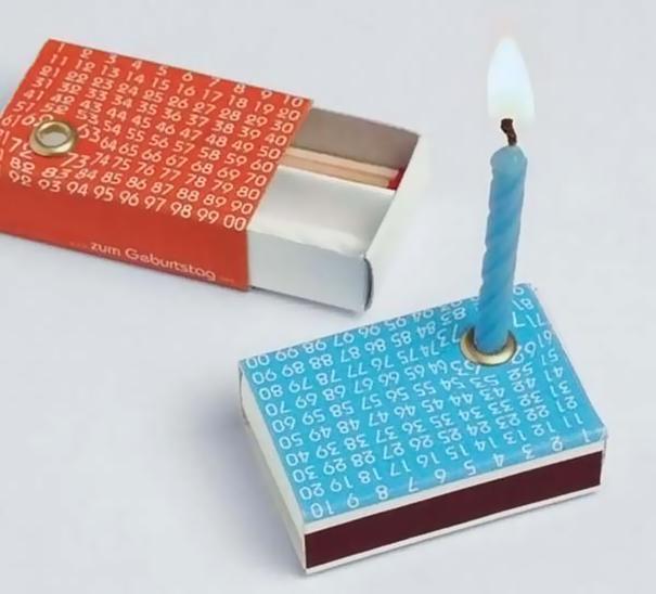 Свечи в спичечных коробках