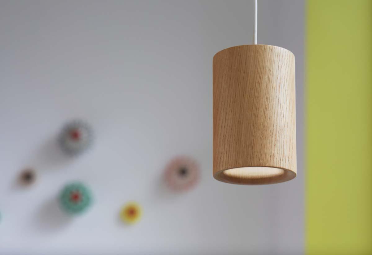 Подвесные светильники из дерева из натурального дуба Terence Woodgate