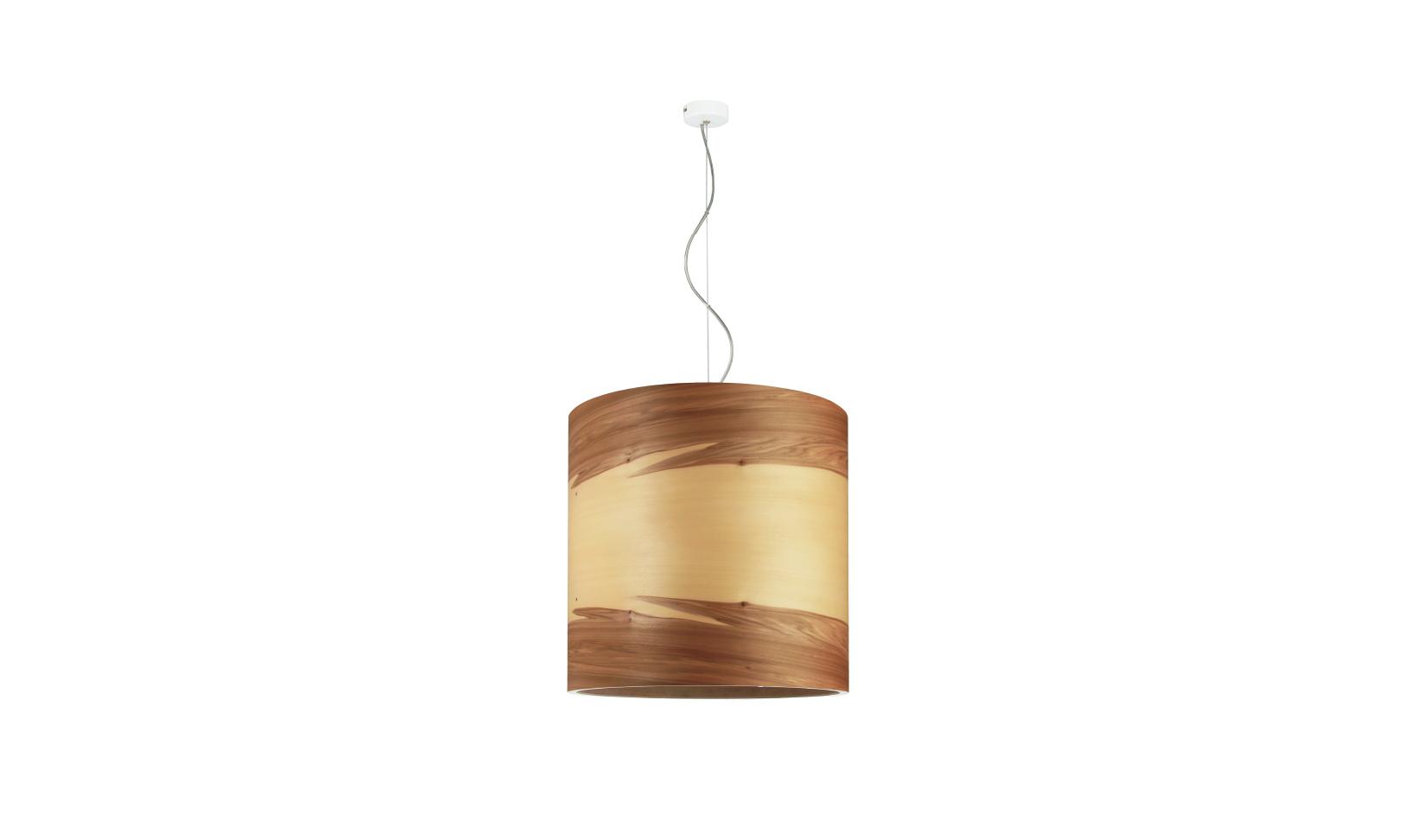 Подвесные светильники из дерева с минимум украшений - фото 3