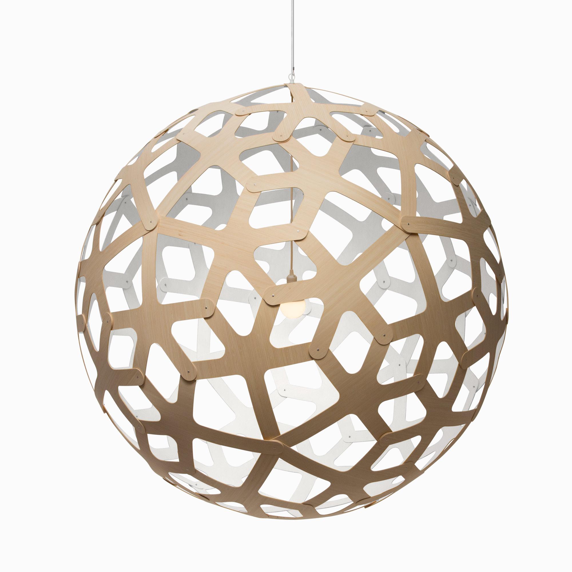 Подвесные светильники из дерева Coral