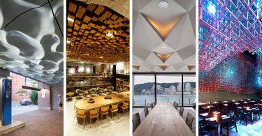 Потолочные конструкции - идеи