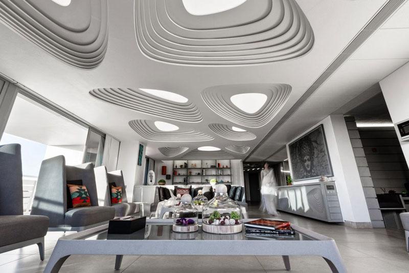 Футуристические потолочные конструкции
