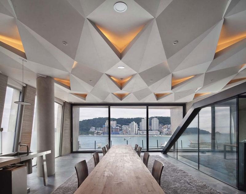 Скульптурно-пространственный дизайн потолочных конструкций