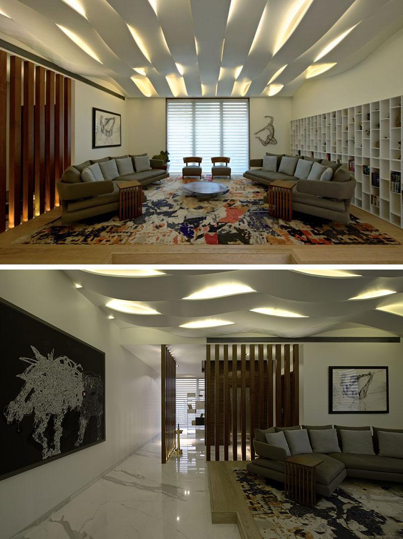 Излучающие свет потолочные конструкции