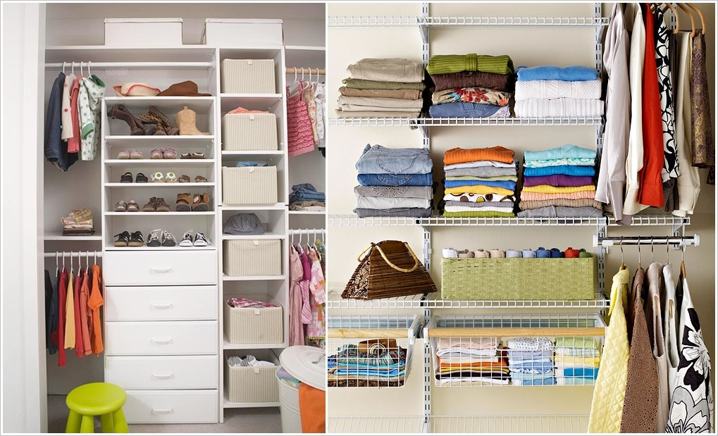 Как в шкафу сделать порядок