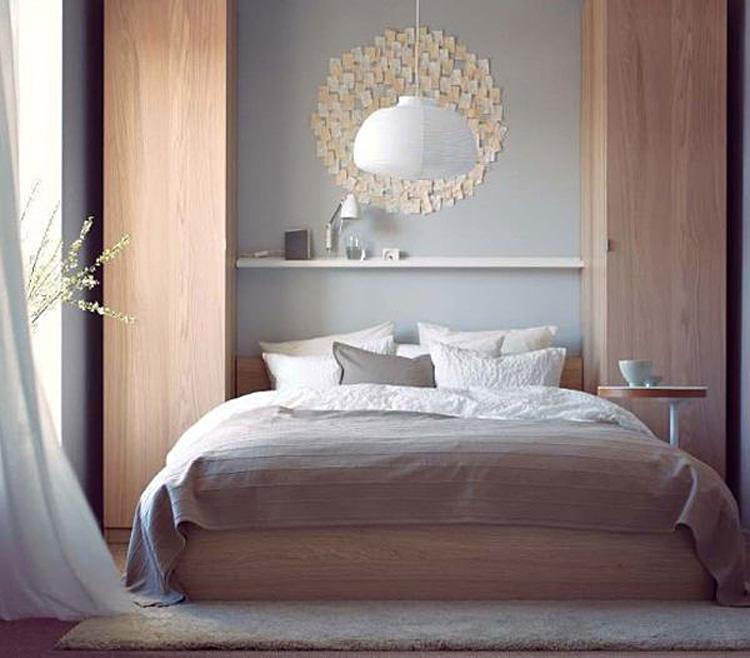 Спальни от икеа дизайн