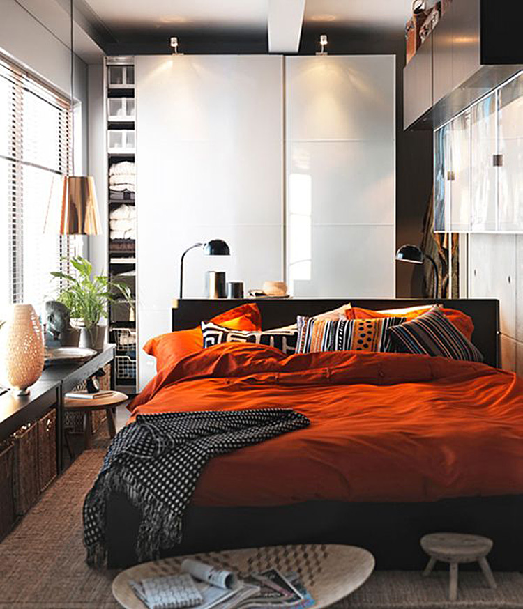 Дизайн спальни от икеа фото