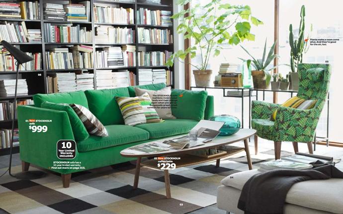 Прекрасные предметы мебели из коллекции ИКЕА 2014