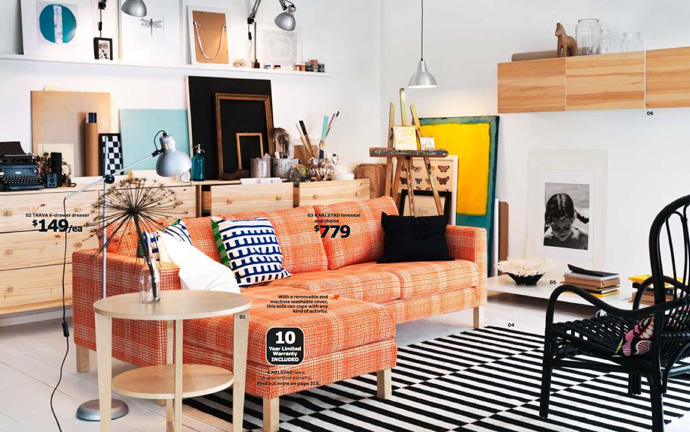 Очаровательные предметы мебели из коллекции ИКЕА 2014