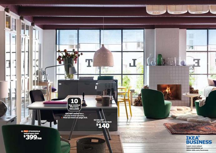 Шикарные предметы мебели из коллекции ИКЕА 2014