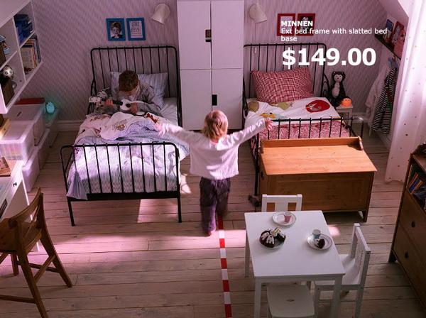 Детская для двоих от IKEA