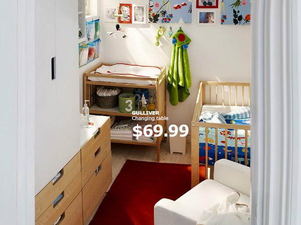 Уютная детская от IKEA