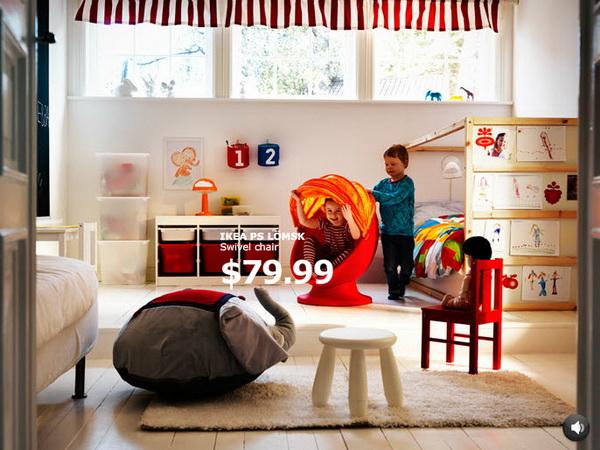 Современная детская от IKEA