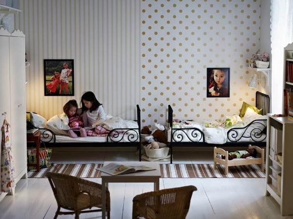 Спальня для девочек-подростков от IKEA