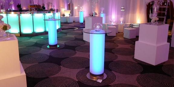 Столики с подсветкой