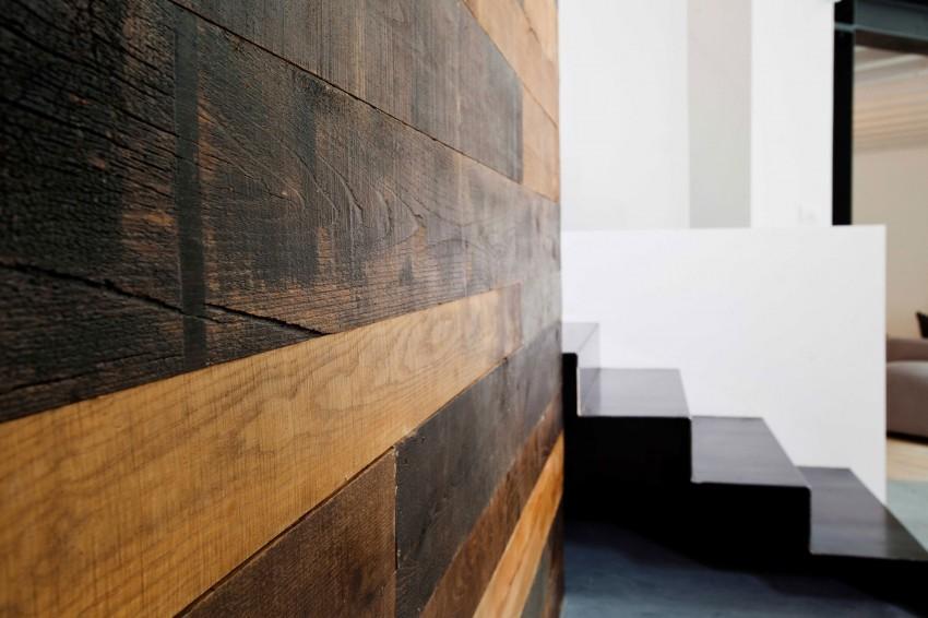 Стены в стиле дерева