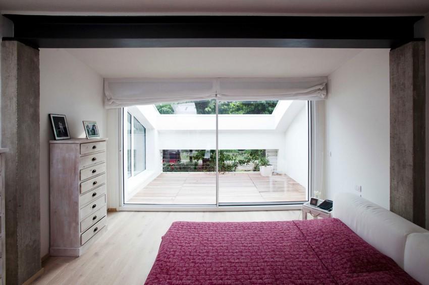 Огромные панорамные окна резиденции