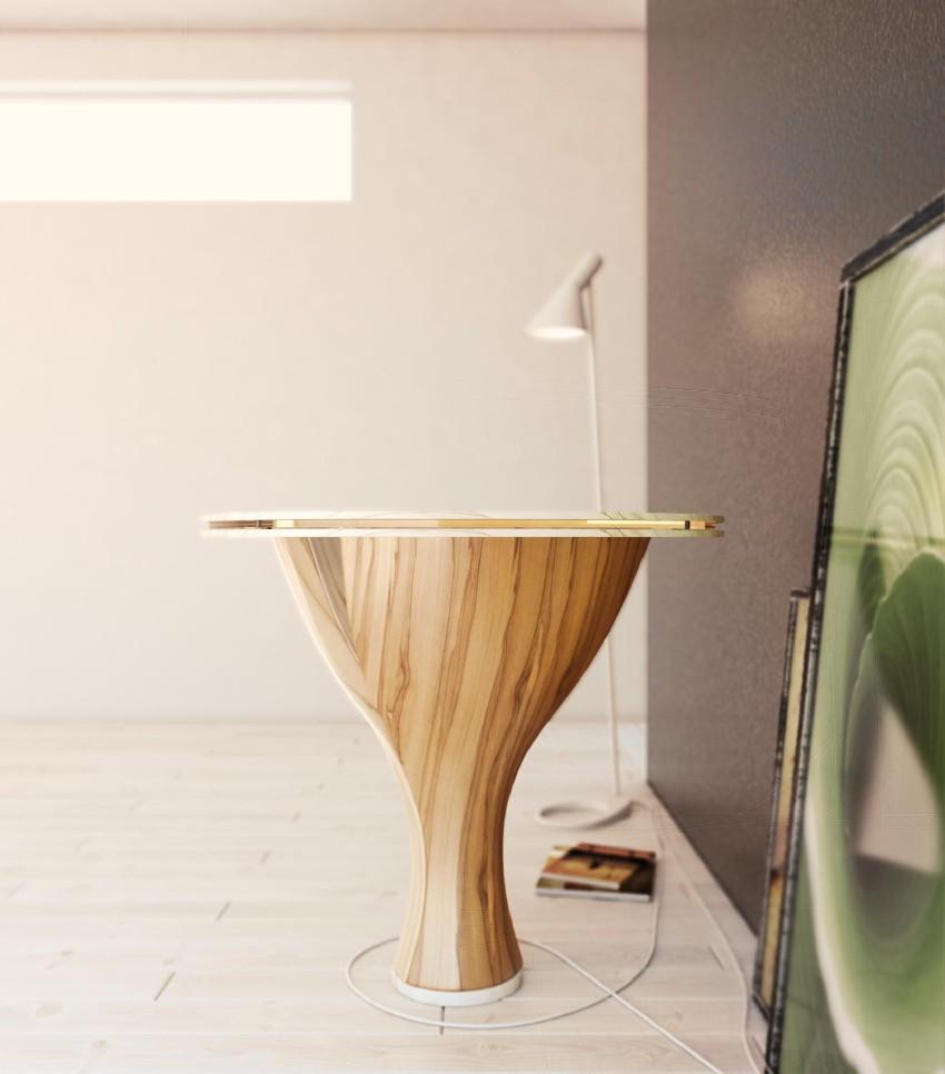 Дизайнерский стол Банан. Фото 2