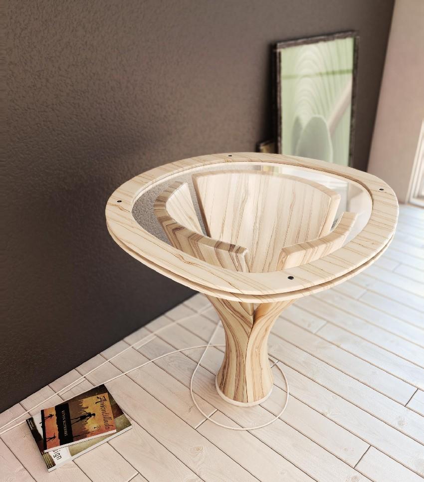 Дизайнерский стол  Банан