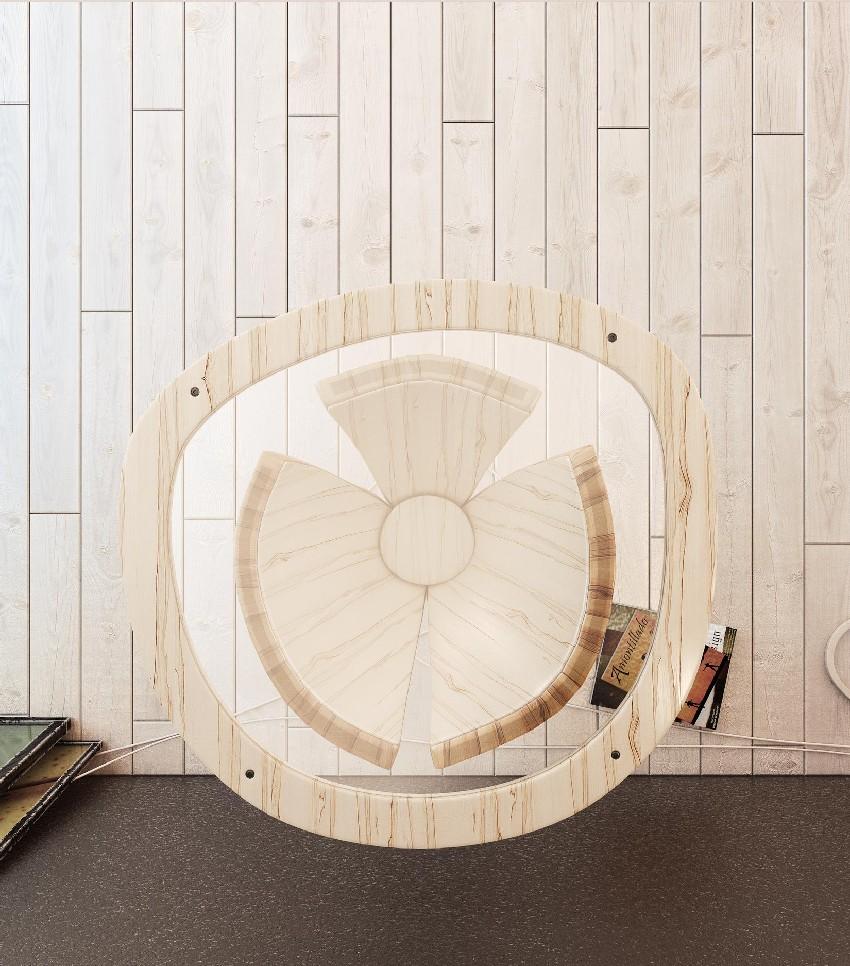 Дизайнерский стол Банан. Фото 5