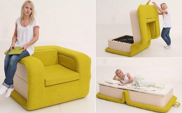 Умопомрачительная кресло-кровать