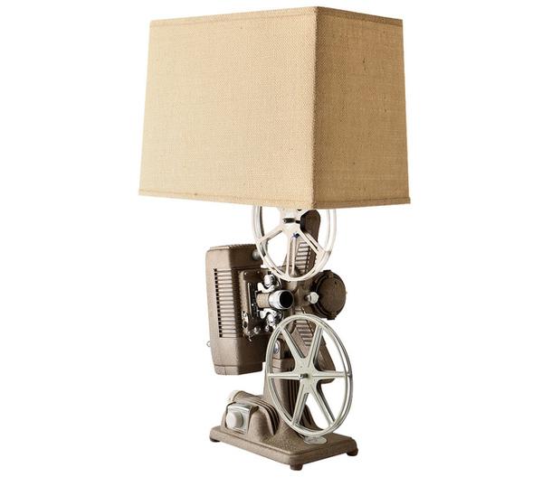 Светильник в стиле кинематографа