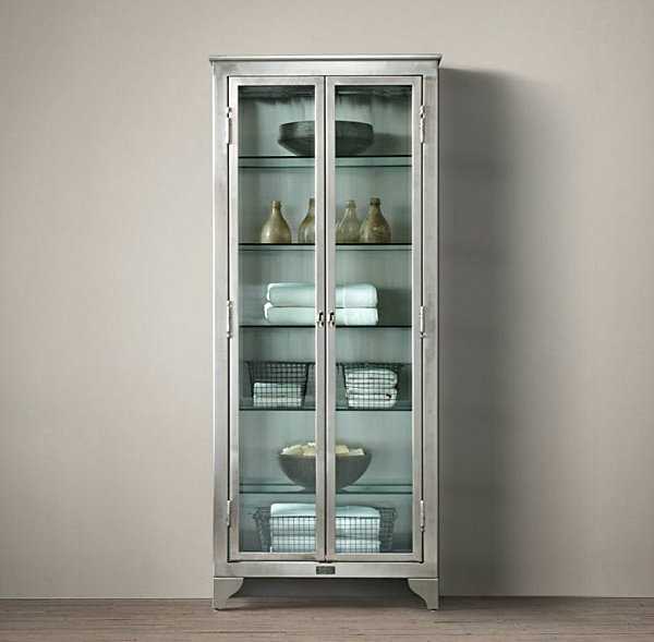 Лабораторный шкаф в винтажном стиле