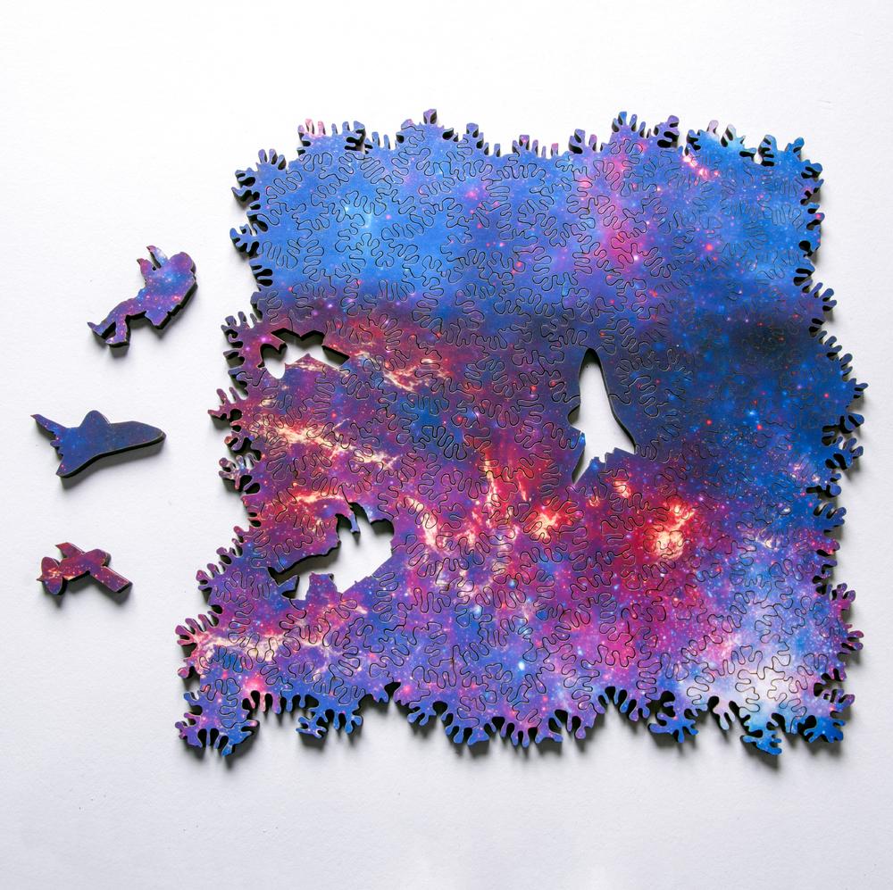 Infinite Galaxy Puzzle: бесконечная головоломка со множеством способов построения