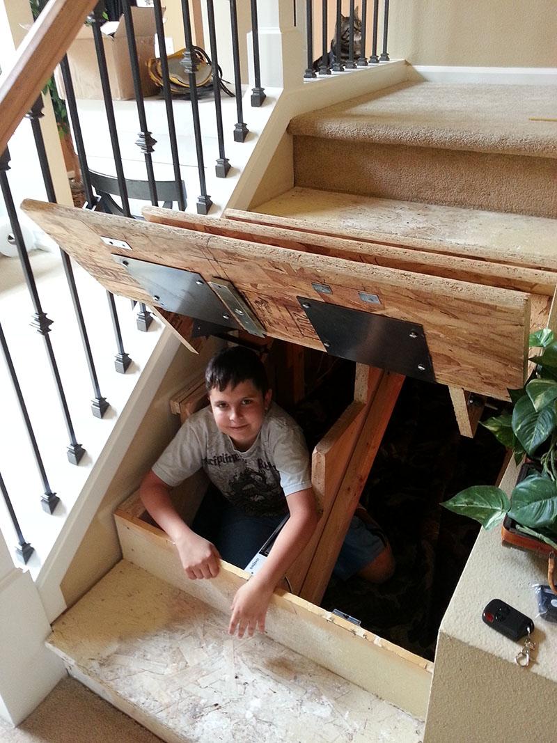 Как сделать вход в домашних условиях