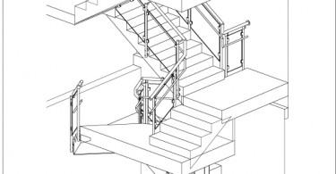 внутренней лестницы в доме