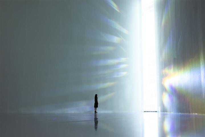 Превосходное сияние в музеи современного искусства в Токио, Японии