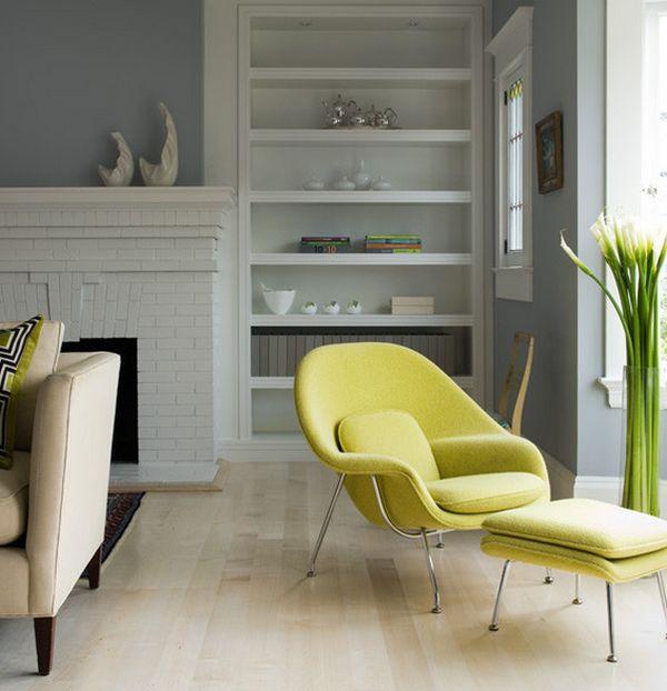 Головокружительное кресло Womb от Eero Saarinen