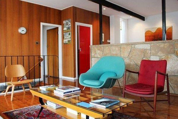 Бесподобное кресло Womb от Eero Saarinen