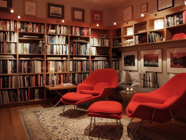 Потрясающее кресло Womb от Eero Saarinen