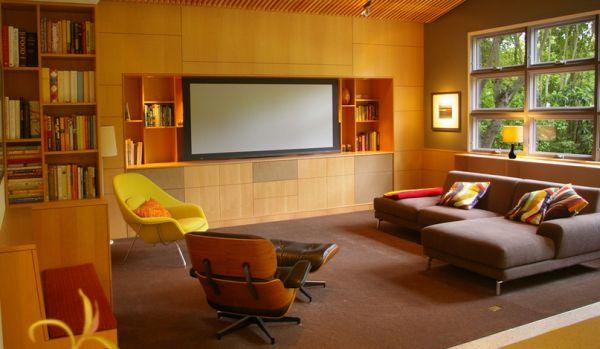 Современное кресло Womb от Eero Saarinen